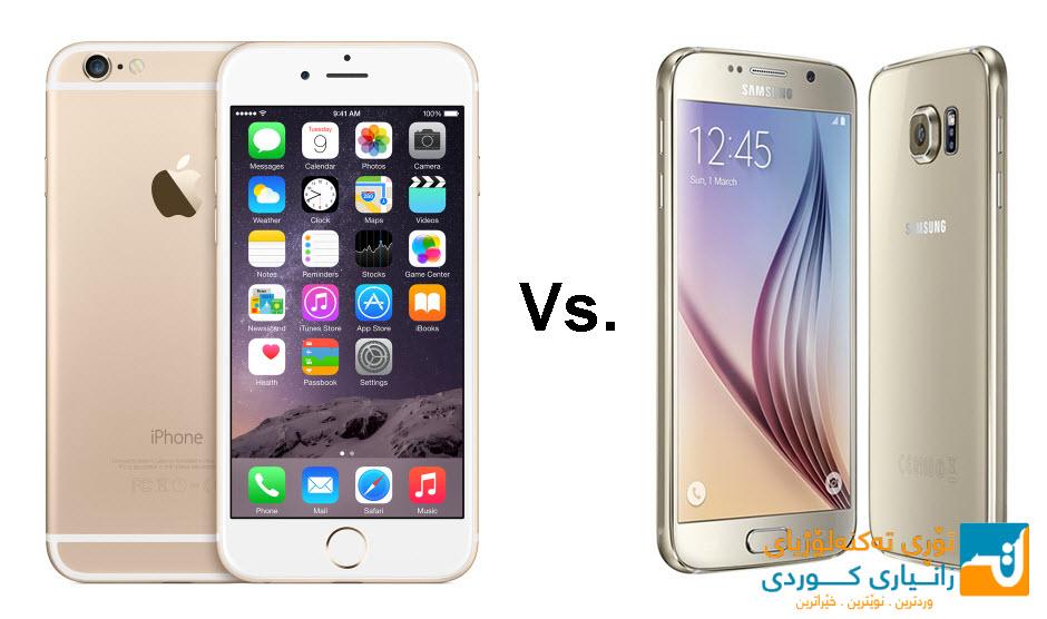 بەوێنە بەراوردكردنی كامێرای Galaxy S6 و iPhone 6