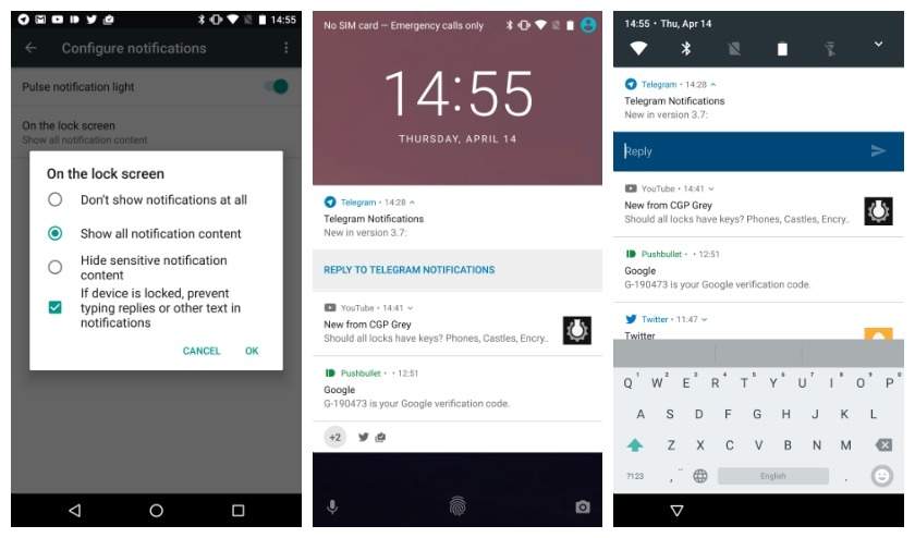 Android-N-Developer-Preview-2-lock-screen-quick-reply-notification