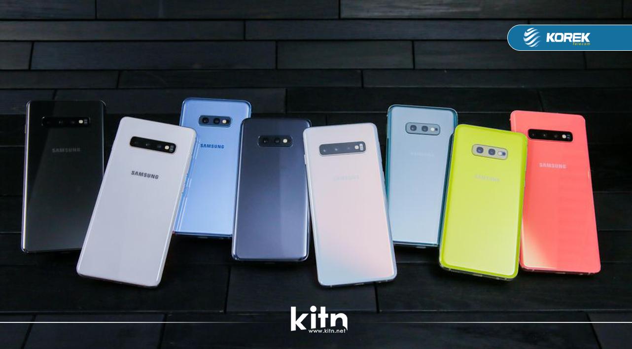 فرۆشی زنجیرەی Galaxy S10 زۆر لە هی زنجیرەی Galaxy S9 باشترە