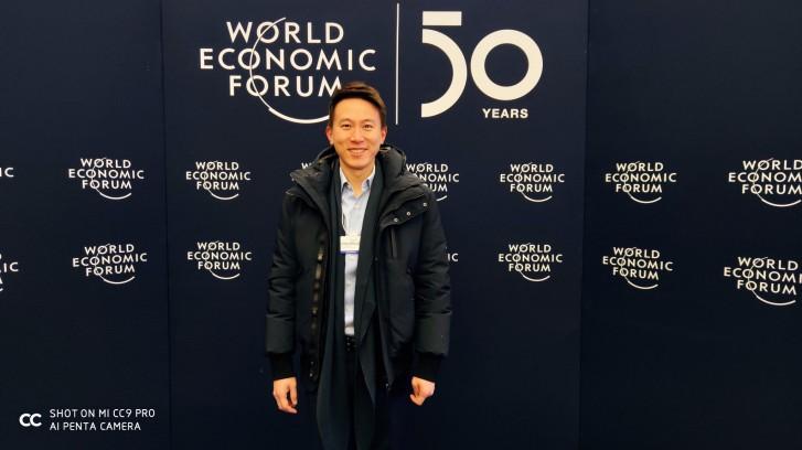 بەڕێز Shou Zi Chew بەڕێوەبەری دارایی کۆمپانیای شاومی لە World Economic Forum 2020