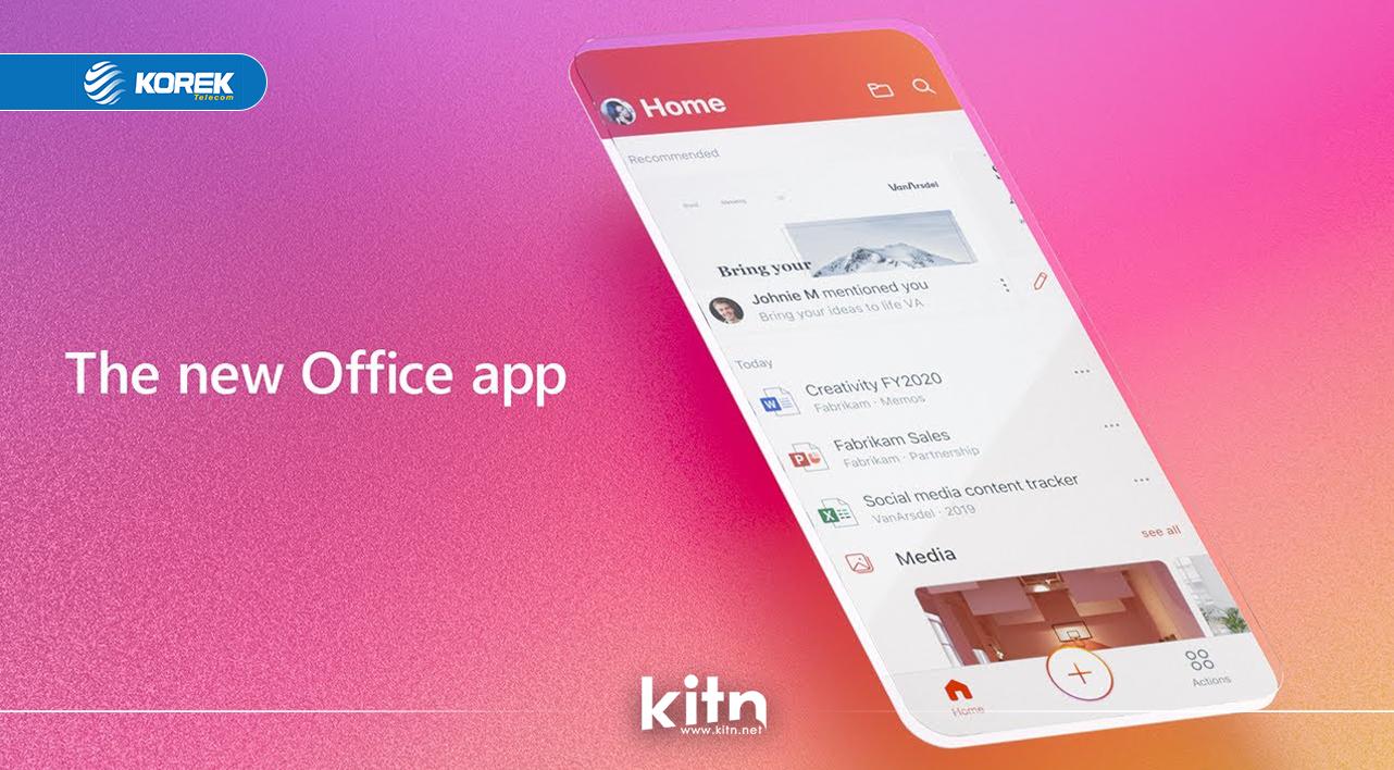 مایکرۆسۆفت ئەپی Office ـی بۆ iOS و Android بەردەستکرد
