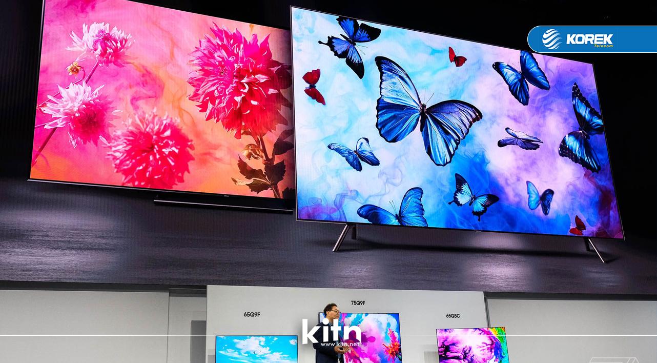 چیدیکە کۆمپانیای سامسۆنگ ڕوونمای جۆری LCD بۆ تەلەفزیۆنە زیرەکەکان بەرهەم ناهێنێت