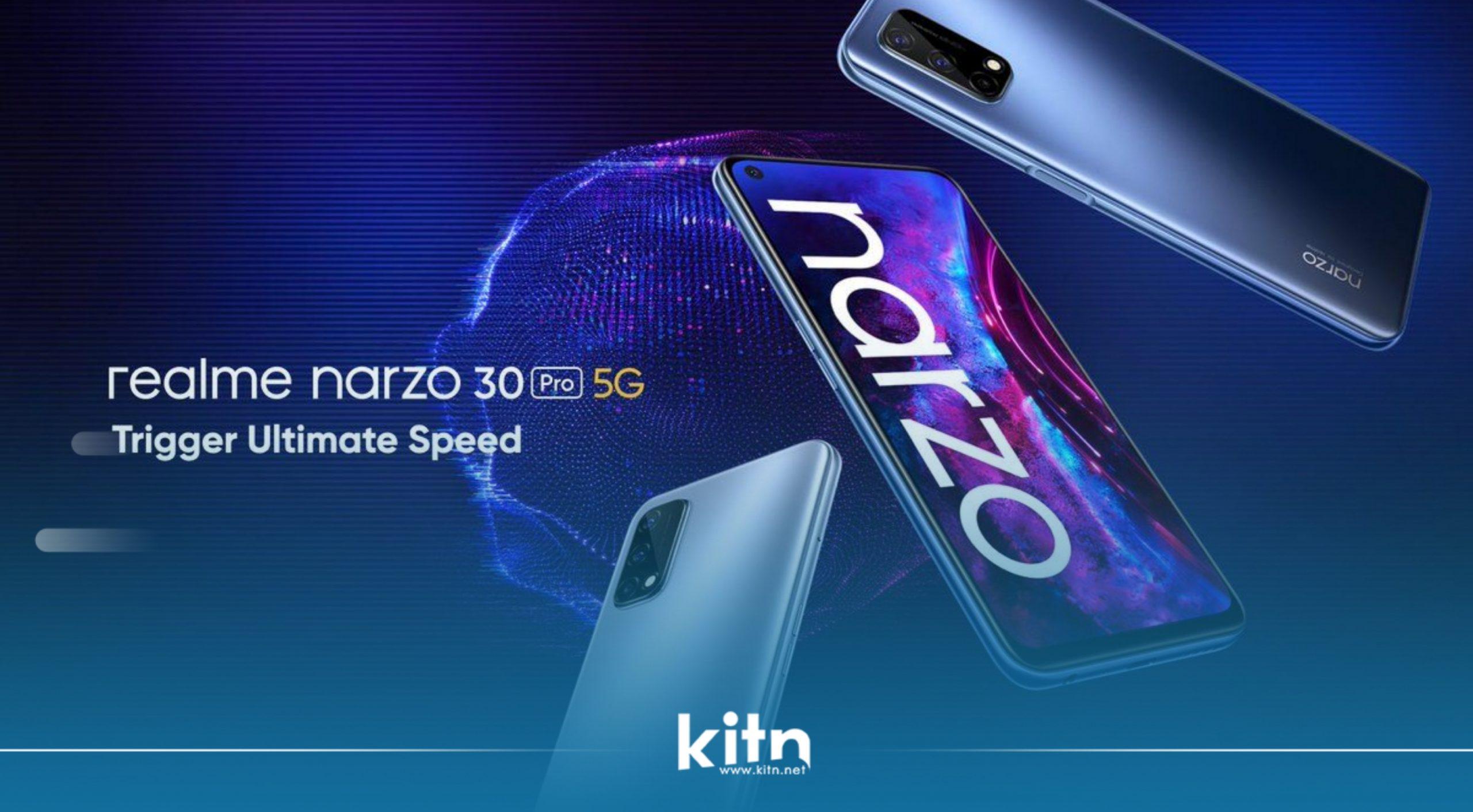 بە فەرمی هەردوو مۆبایلی Realme Narzo 30 Pro و Realme Narzo 30A نمایش کران