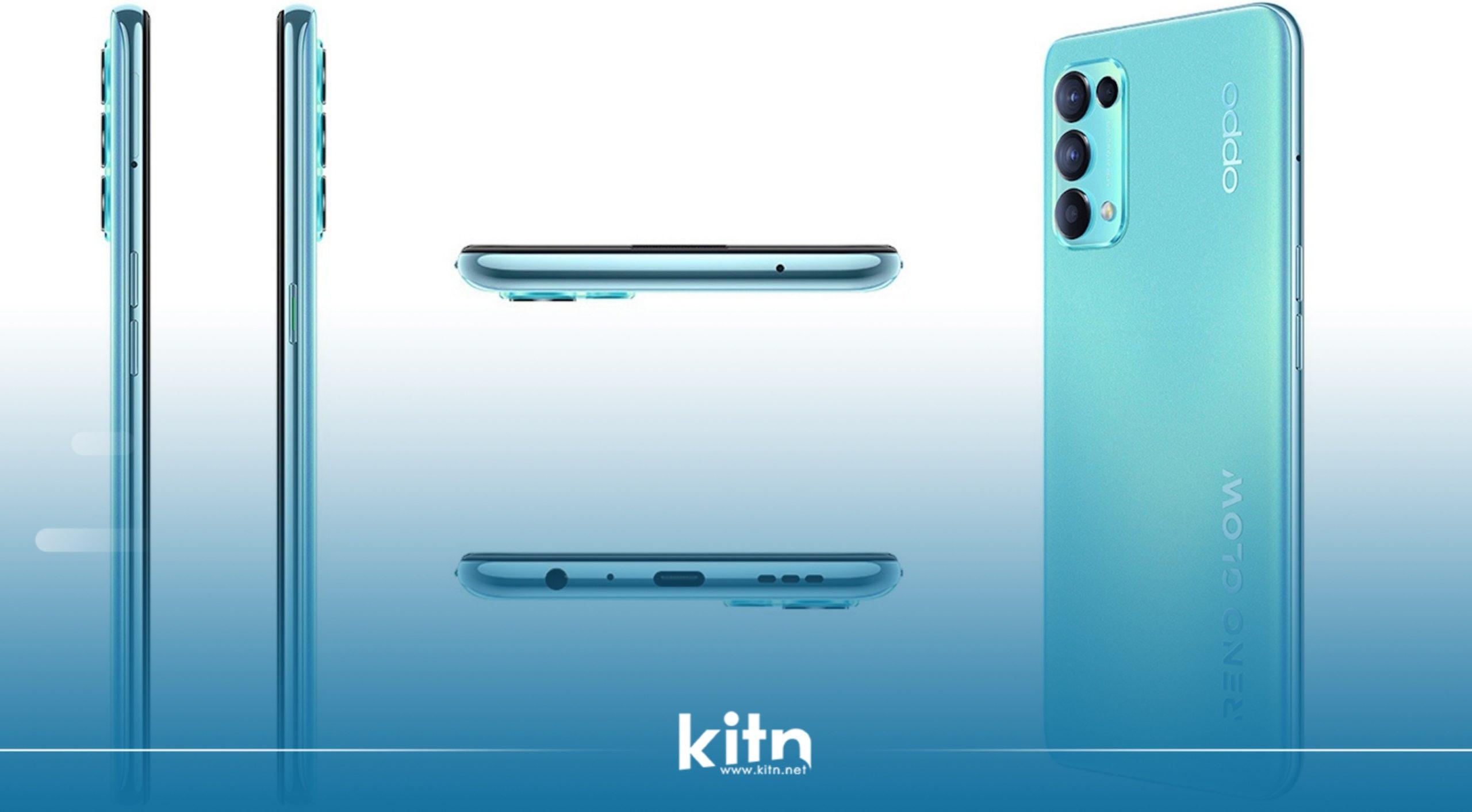 بە فەرمی مۆبایلی Oppo Reno5 K 5G بە چیپسێتی سناپدراگۆن 750G و بارگاوی کەرەوەی 65 وات و زیاترەوە نمایش کرا